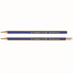 Creion Grafit 2B Cu Guma Goldfaber 1221 Faber-Castell
