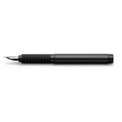 Stilou Basic Black Carbon F Faber-Castell