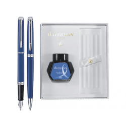 SET WATERMAN HEMISPHERE STILOU+PIX DELUXE OBSSESION BLUE CT+CUTIE PT. CADOU CELEBRATION CU CALIMARA!