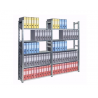 RAFT METALIC PROFESIONAL 5 POLITE 800x600x2000 mm (lxAxH) 180 kg/polita, PLUS