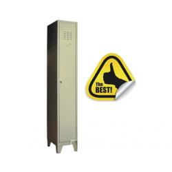 VESTIAR METALIC CU 1 USA SI PICIOARE, 312x450x1920 mm (LxlxH), ECO+