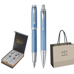 SET PARKER IM ROYAL STILOU+PIX Premium Blue CT+CUTIE BRITISH COLLECTION DUO+PUNGA PT. CADOU