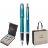 SET PARKER URBAN ROYAL STILOU+PIX Vibrant Blue CT+CUTIE BRITISH COLLECTION DUO+PUNGA PT. CADOU