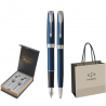 SET PARKER SONNET ROYAL STILOU+PIX Blue CT+CUTIE BRITISH COLLECTION DUO+PUNGA PT. CADOU