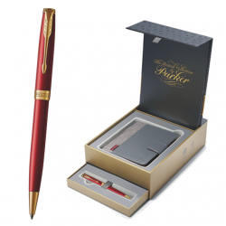 PIX PARKER SONNET ROYAL Red GT+CUTIE PT. CADOU BRITISH COLLECTION ORGANIZER