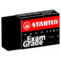 Radiera Stabilo Exam Grade 1191, 40 x 22 x 11 mm