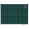 TABLA SCOLARA MAGNETICA LINIATA (matematica) VERDE 1500x1200 mm, OFFICE
