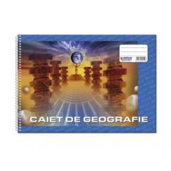 CAIET GEOGRAFIE CU SPIRA 32 FILE, DIAMOND LINE