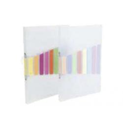 CAIET MECANIC A4 CU 4 INELE, VIQUEL 609380, transparent incolor, 20 mm