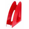 Suport vertical plastic pentru cataloage HAN Twin - rosu