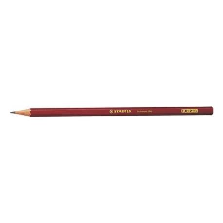 Creion grafit Stabilo Schwan 306 fara radiera, B