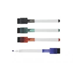 MARKER PT. WHITEBOARD CU SUPORT MAGNETIC 4 culori/set, 12280S, MAGNETOPLAN