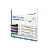 MARKER PT. WHITEBOARD LEGAMASTER TZ140, 4 bucati/set