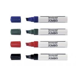 MARKER PT. WHITEBOARD JUMBO 4 culori/set, 1111505, MAGNETOPLAN