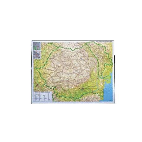 Harta Romaniei Rutiera Turistica Pe Suport Magnetic 115x85 Cm
