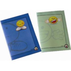 Caiet capsat Maxx Smiley, 145 x 203 mm, 80 file, matematica