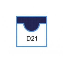 CUTIT DE SCHIMB PENTRU WARRIOR 21139, D21