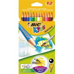 Creioane colorate Bic Tropicolors 2, 18 bucati/set