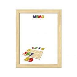 TABLA SCHOOL BOARD IMPRIMATA ''CIFRE'' 30x40 cm
