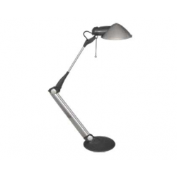 LAMPA BIROU OFFICE 62x18,5 cm, argintiu