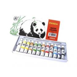 TEMPERA PANDA, 12 culori