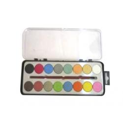 ACUARELE 16 culori, PASTILE
