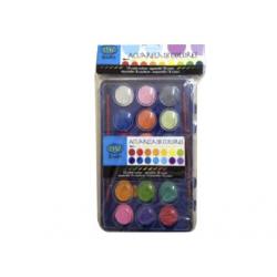 ACUARELE 16 culori LUCIOS, F8386