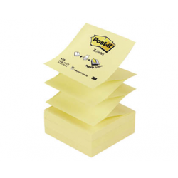 NOTES AUTOADEZIV POST-IT 76x76 mm, Z-NOTES neon