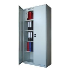 DULAP METALIC CU 3 RAFTURI SI SEIF 900x400x1900 mm (LxlxH), 35 kg/polita, ECO+