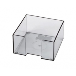 SUPORT CUB HARTIE 8,5x8,5 CM, plastic transparent