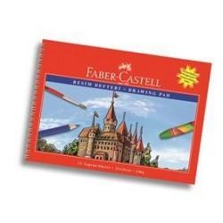 Bloc Desen A4 15 File 120 g/mp Faber-Castell