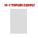 SET: REZERVA HARTIE FLIPCHART 70x100 cm, 20 coli/top (10+2 topuri CADOU!)