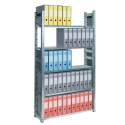 RAFT METALIC PROFESIONAL 10 POLITE 1200x600x4500 mm (lxAxH) 150 kg/polita, PLUS