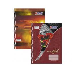 CAIET STUDENTESC A4, CU SPIRA, 50 FILE, COPERTA POLICROMIE