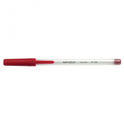 Pix fara mecanism Senator Stick Pen, 0.7 mm, rosu