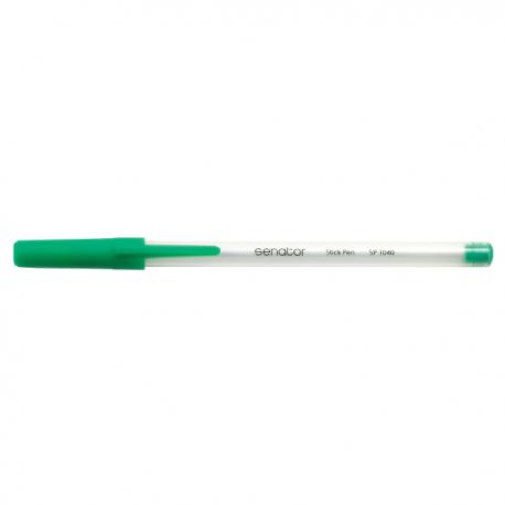 Pix fara mecanism Senator Stick Pen, 0.7 mm, verde