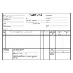 FACTURIER AUTOCOPIATIV A5 3 exemplare