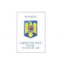 CARNET ELEV V-VIII