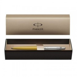 PIX PARKER JOTTER 125th Anniversary Edition Metallic Yellow CT