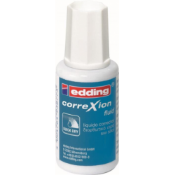 Fluid corector Edding, 20 ml