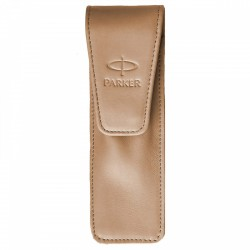 ETUI PARKER 2 INSTRUMENTE DE SCRIS, Economic Light Brown