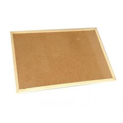 PANOU PLUTA 90x60 cm, rama lemn