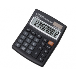 CALCULATOR 12 DIGITS, CITIZEN SDC-812BP