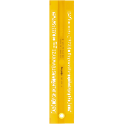 SABLON ROTRING LITERE ROMANE 0.35 mm, S0228480