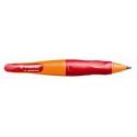 Creion mecanic Stabilo easy 'smove, pentru dreptaci + ascutitoare, fetite