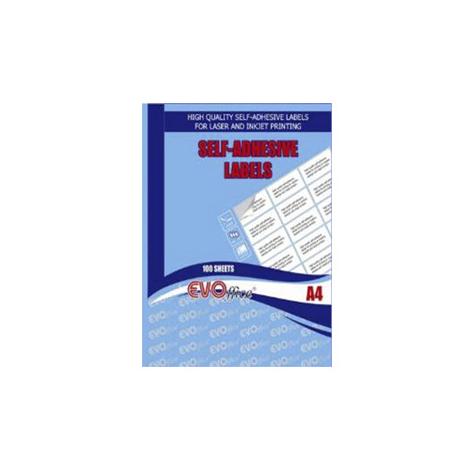 ETICHETE AUTOADEZIVE ALBE OFFICE A4, 100 coli/top, colturi drepte
