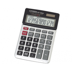 CALCULATOR 14 DIGITS, CITIZEN MT-854