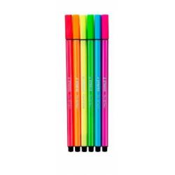 Marker pentru copii, Stabilo, Pen 68, 6bucset