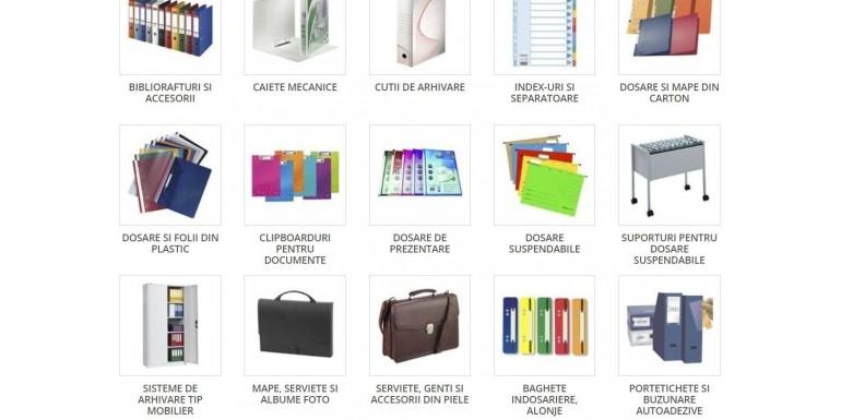OfficeClass iti furnizeaza nenumarate produse de organizare si arhivare
