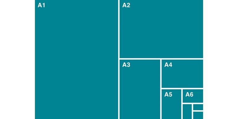 De ce este hartia A4 mai mica decat hartia A3?